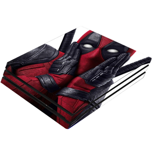 PS4 Pro Deadpool Skin