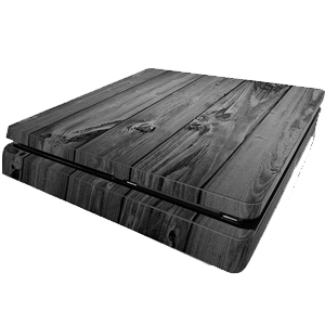 ps4 slim wood skin