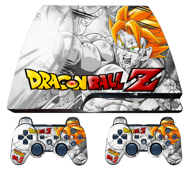 ps3 slim dragon ball skin sticker wrap decal