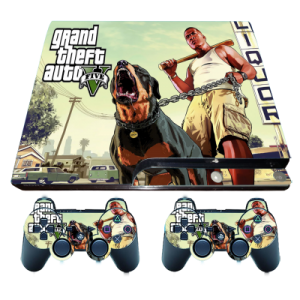 gta v ps3 slim sticker wrap decal