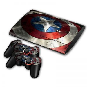 captain america ps3 skin