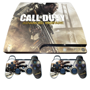 ps3 slim call of duty skin sticker wrap decal