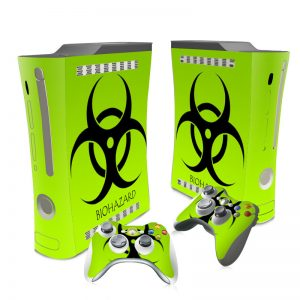 XBOX 360 biohazard skin