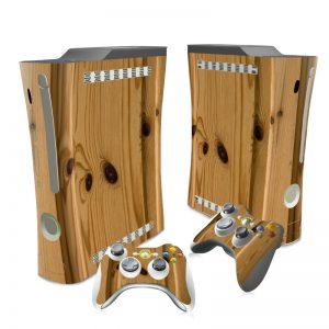 XBOX 360 wood skin