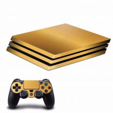 Gold PS4 Pro Skin