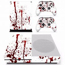 Bloody Red Splash Xbox One S Skin