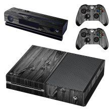Black Wood Xbox One Skin