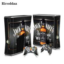 Jack Daniel's Xbox 360 Slim Skin
