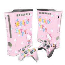 Hello Kitty Xbox 360 Fat Skin