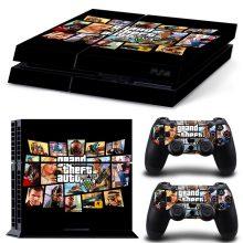 Grand Theft Auto V PS4 Skin Sticker