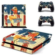 American girl PS4 Skin