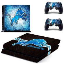 Detroit Lions PS4 Skin