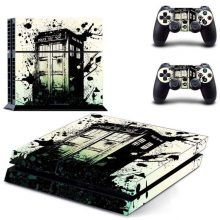 Doctor who Call box PS4 Skin