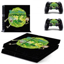 Rick And Morty PS4 Skin Sticker Decal