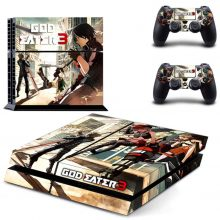 God Eater 3 PS4 Skin Sticker Decal