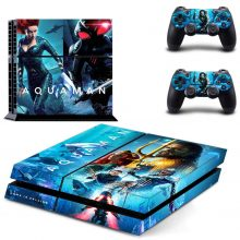 Aquaman PS4 Skin Sticker Decal