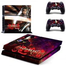 Onimusha PS4 Skin Sticker Decal
