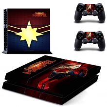 Captain Marvel PS4 Skin Sticker Decal