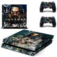 Aquaman PS4 Skin Sticker Decal
