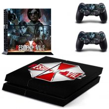 Resident Evil 2 PS4 Skin Sticker Decal