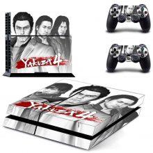 Yakuza 4 PS4 Skin Sticker Decal