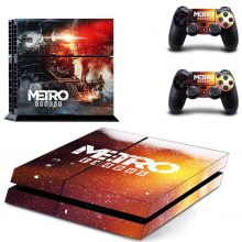 Metro Exodus PS4 Skin Sticker Decal