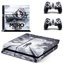 Metro Exodus PS4 Skin Sticker Decal