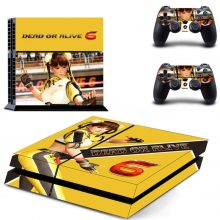 Dead Or Alive 6 PS4 Skin Sticker Decal