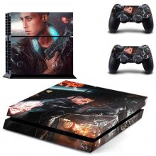 Cyberpunk 2077 PS4 Skin Sticker Decal