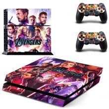 The Avengers Endgame PS4 Skin Sticker Decal