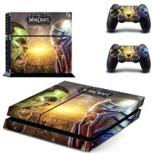 World Of Warcraft PS4 Skin Sticker Decal