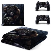 Fantasy Werewolf PS4 Skin Sticker Decal