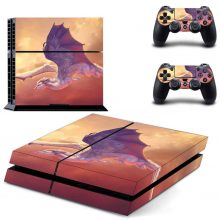 Flying Dragon PS4 Skin Sticker Decal