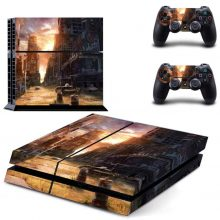 Destroyed City PS4 Skin Sticker Decal