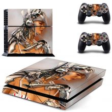 Sexy Woman Warrior Fantasy PS4 Skin Sticker Decal