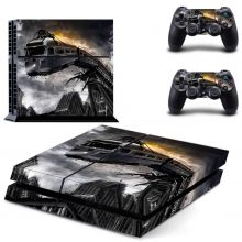 The Lost Metro Fantasy PS4 Skin Sticker Decal