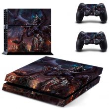 Witch On The Dragon Fantasy PS4 Skin Sticker Decal