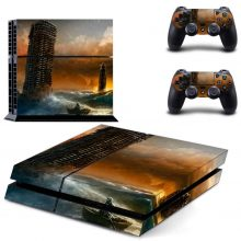 Overwhelmed City Fantasy PS4 Skin Sticker Decal