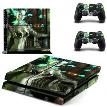 Sexy Cyber Girl Fantasy PS4 Skin Sticker Decal