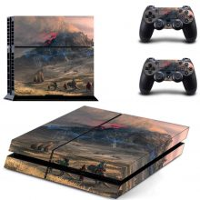 Volcano PS4 Skin Sticker Decal