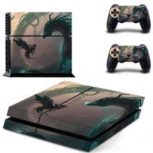 Black Dragons PS4 Skin Sticker Decal