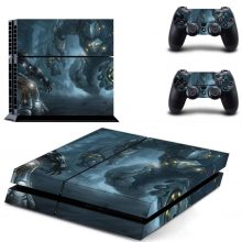 The Fight Of Titans PS4 Skin Sticker Decal