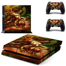 Dragon Girl In The Lake PS4 Skin Sticker Decal