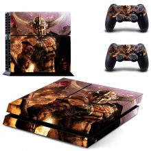 Fire Knight PS4 Skin Sticker Decal