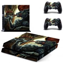 Blue Dragon PS4 Skin Sticker Decal