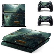 Flying Ships PS4 Skin Sticker Decal