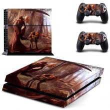 The Death And The Man PS4 Skin Sticker Decal