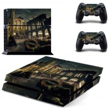 Underwater Ruins PS4 Skin Sticker Decal