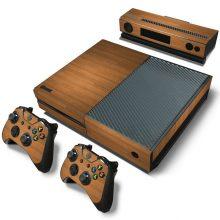 Brown Wood Xbox One Skin