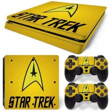 Star Trek PS4 Slim Skin Sticker Vinyl